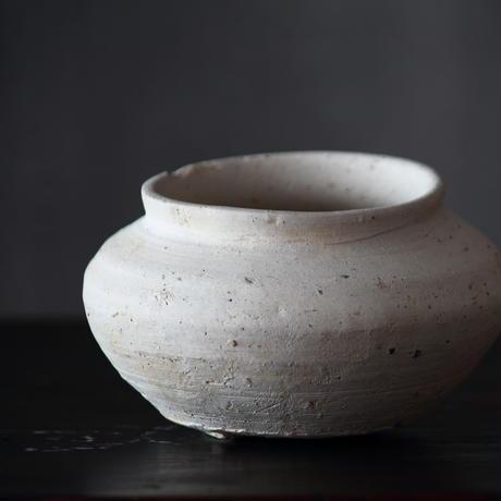 猿投白瓷小壺