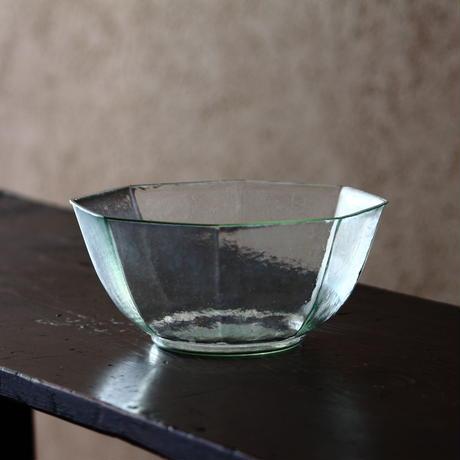 江戸硝子透明八角鉢