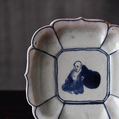 初期伊万里布袋文皿