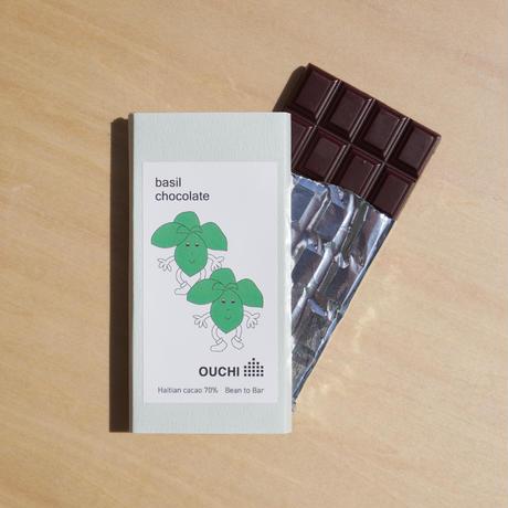 バジルチョコレート(basil chocolate)