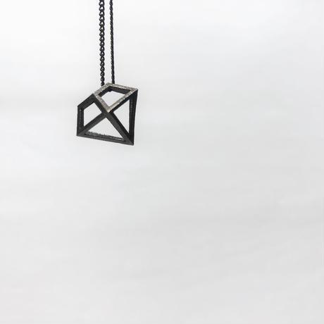 ダイヤモンドモチーフネックレス