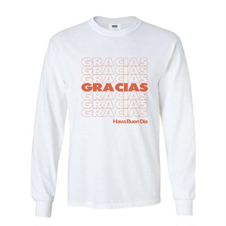 """OPPT78 """"GRACIAS"""" Long Sleeve T-Shirt"""