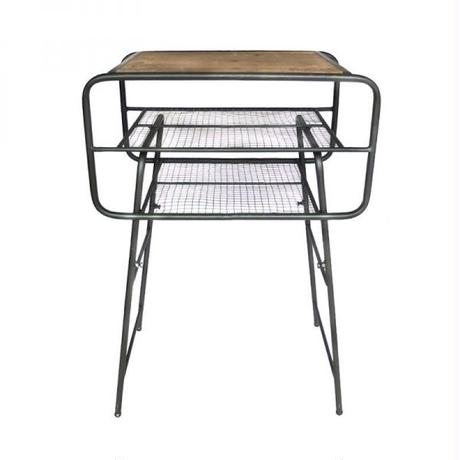 GG06  Iron side table Olive