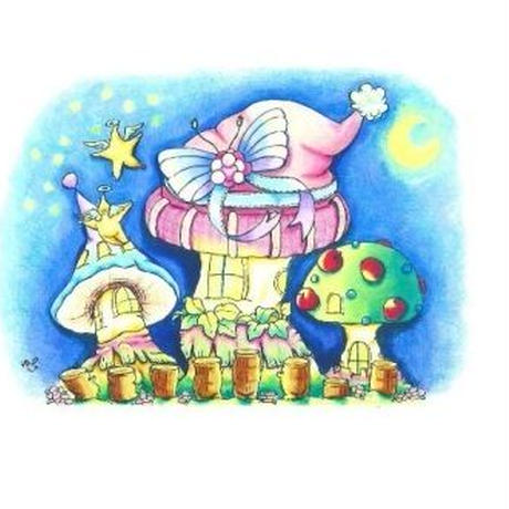 【PoPun.P】ポストカード 夜空