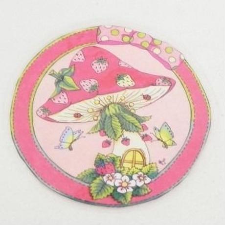 【PoPun.P】コースター いちご S48-244