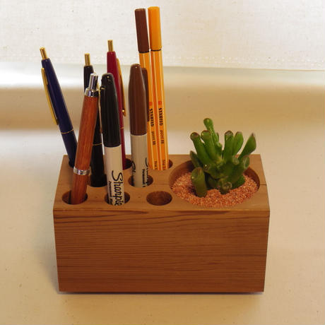 "Desk Organizer ""Succulent"""