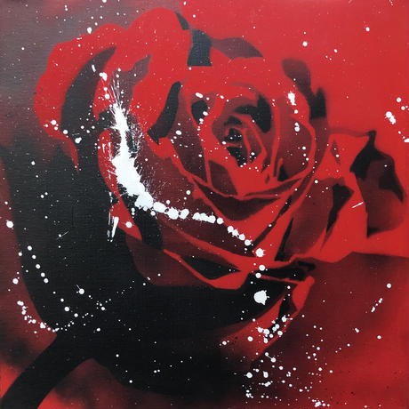 Paint Rose L30 -Red-