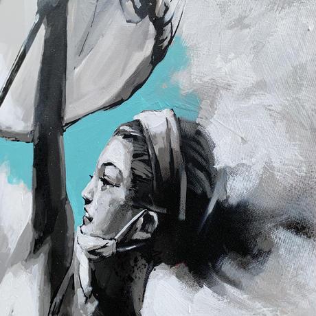 Le Peuple guidant Liberté(自由を導く民衆の女神)