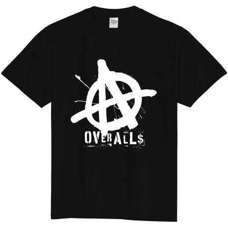 OVER ALLs TAGGING-Black-  (BackPrintなし)