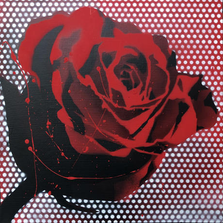 Paint Rose L30 -Red Dot-
