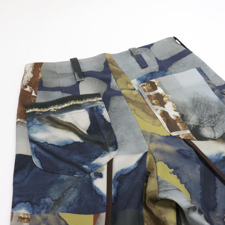 ohta yuki wide pants pt-08P
