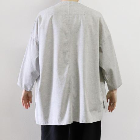 FIRMUM 撚り杢ロープ染め糸 5oz シャンブレー プルオーバーシャツ S9-FR134PO