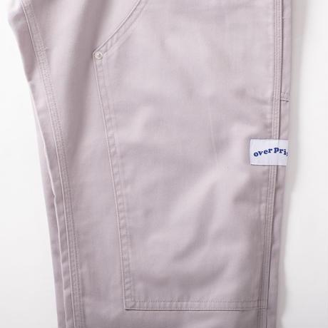 double knee pants (gray)