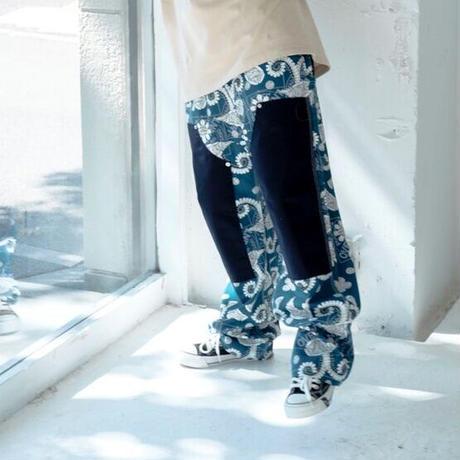 PIZZA double knee pants