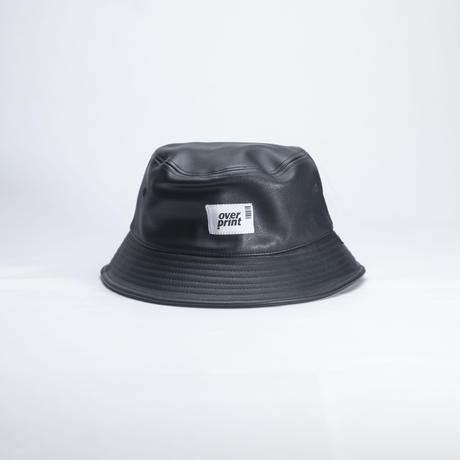 PU leather Bucket Hat *new hattan