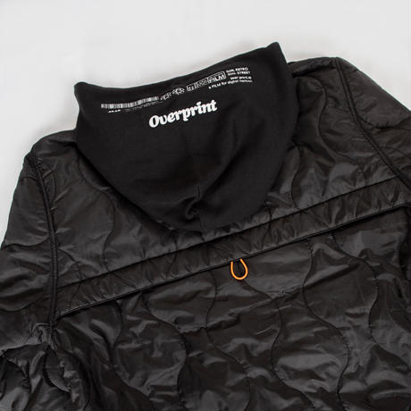 QUILT Hoodie  *UNIVERSAL OVERALL (black)
