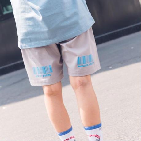 baker half pants *WONDER VISITOR (gray)