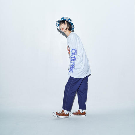 FESTIVAL LS Tee *ONE PIECE *with ZERO ZERO HERO  (white)