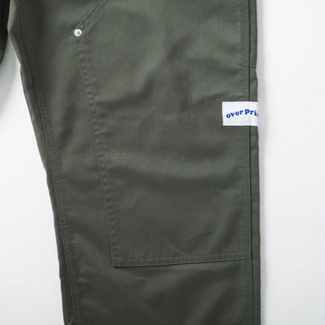 double knee pants (olive)
