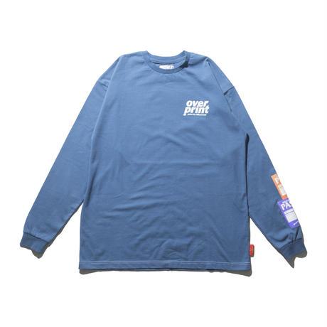 PASS LS Tee (blue)