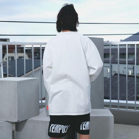 PASS LS Tee (white)