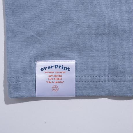 FEEL Heavy oz Ringer Tee (sax blue)