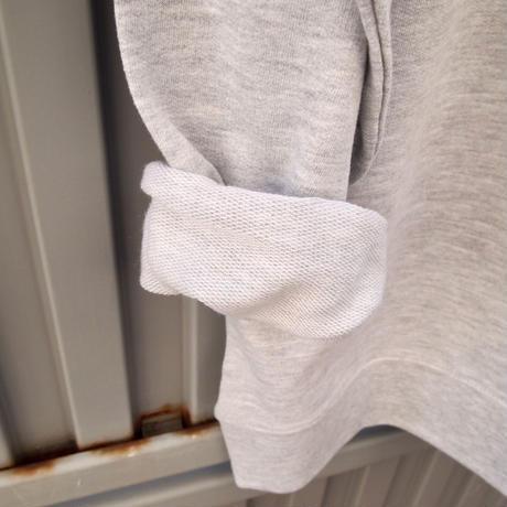 Three B`s crewneck pullover (heather gray)