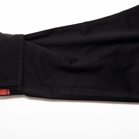 double knee pants (black)