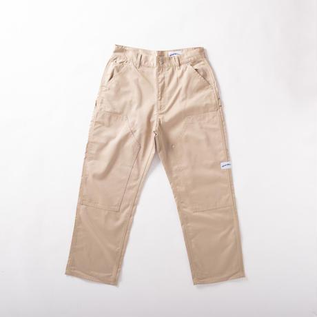 double knee pants (sand)