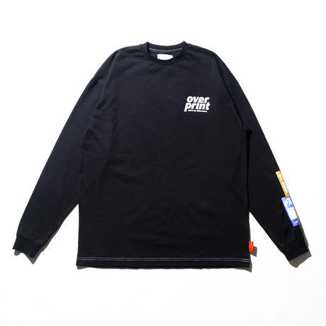 PASS LS Tee (black)