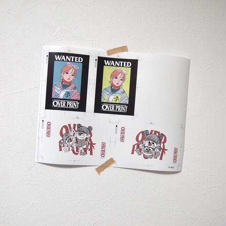 sticker set *ONE PIECE