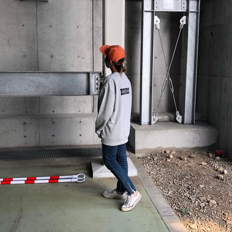 """【O.T.D.T×BENDS】""""Exclusive Recycle Cotton Crew Sweat"""""""