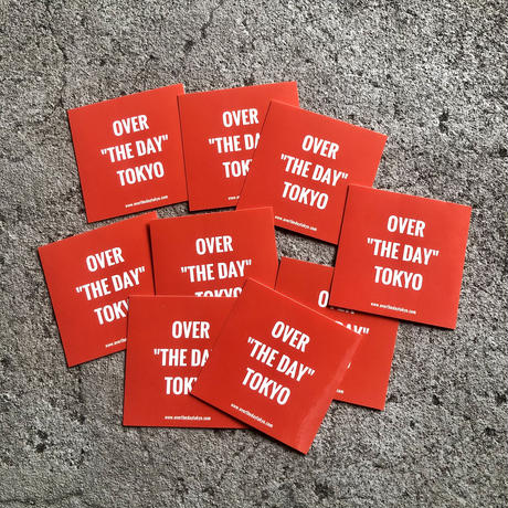 【O.T.D.T】全てのお客様にオリジナルステッカープレゼント中