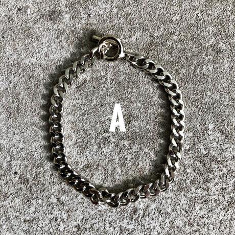 【O.T.D.T】18cm シンプルチェーン真鍮ブレスレット Made in JAPAN