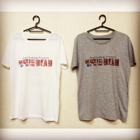 MUSIC OF THE DEAD ツアーTシャツ
