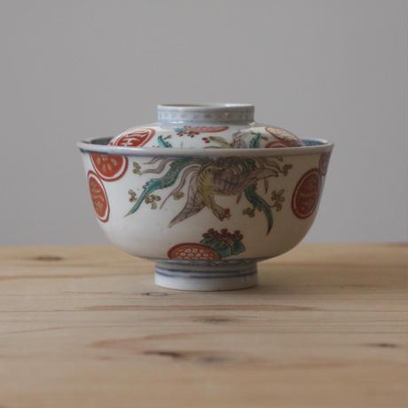 色絵の茶碗(鳳凰)