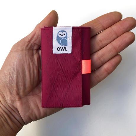 OWL X-Pac Kohaze Wallet (Wine Red) 12.9g
