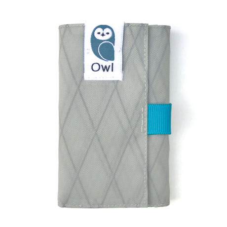 OWL X-Pac Kohaze Wallet (Light Gray) 11.1g