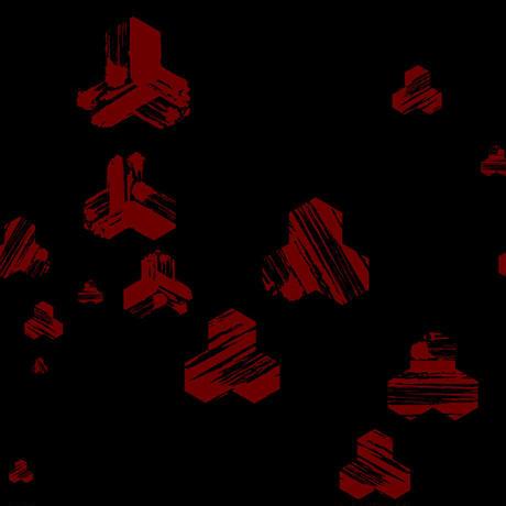 UNDER WEAR 毘沙門亀甲×筆(BLACK)