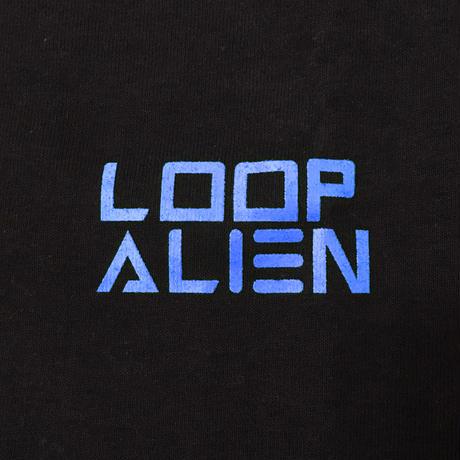 【Tongpoo / Tongpoo videos】LOOP ALIEN  S/S TEE - BLACK/BLUE(TPSS-SOSO-BKBL)