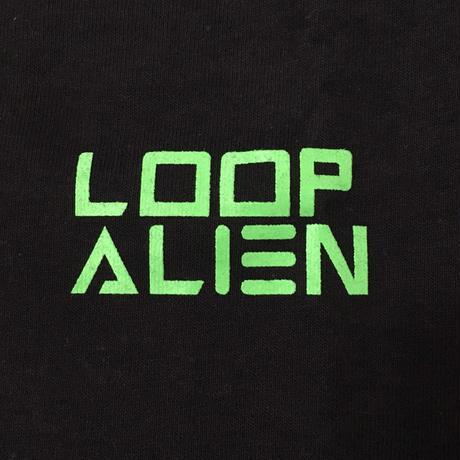 【Tongpoo / Tongpoo videos】LOOP ALIEN  S/S TEE - BLACK/GREEN(TPSS-SOSO-BKGRN)