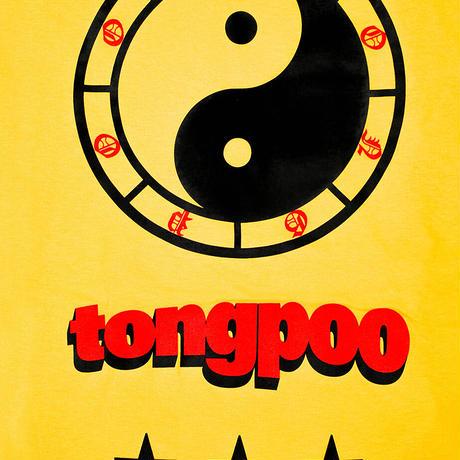 【TONGPOO CLOTHING】YIN YANG S/S TEE - YELLOW(TPSS-003-YE)