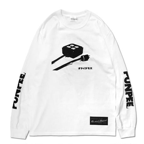 【Tongpoo videos vol.2/PUNPEE】電源タップロングTシャツ(限定ステッカー付)