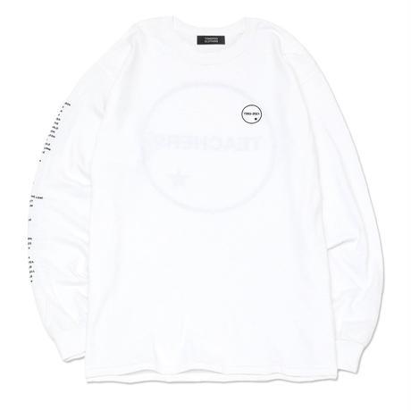 【TONGPOO CLOTHING】TEACHERS L/S TEE - WHITE/BLACK(TPLS-006-WH/BK)