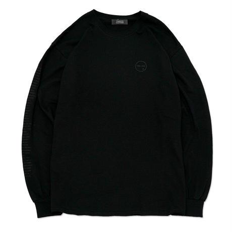 【TONGPOO CLOTHING】TEACHERS L/S TEE - BLACK/BLACK(TPLS-006-BK/BK)