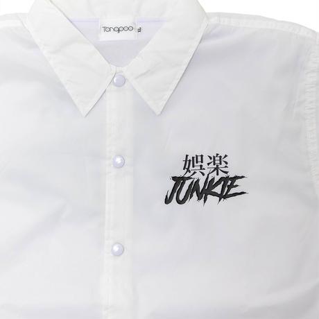 【Tongpoo】GORAKU JUNKIE COACH JACKET  - WHITE(TNP-13JK-WH)