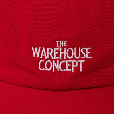 【TONGPOO CLOTHING】TWC ICON CAP - RED(TNP-07CP-RD)