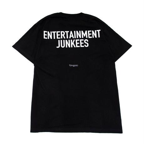 【Tongpoo】ENTERTAINMENT JUNKEES S/S TEE  - BLACK(TNP-10TE-BK)