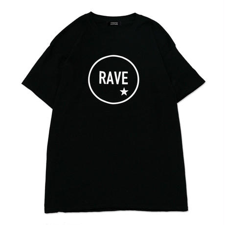 【TONGPOO CLOTHING】2021 RAVE S/S TEE - BLACK(TPSS-002-BK)