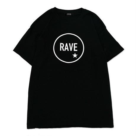 【TONGPOO CLOTHING】2021 RAVE S/S TEE - BLACK(TPSS-002-BK)